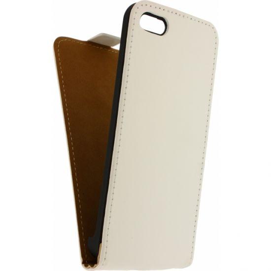Mobilize Ultra Slim - Etui à clapet pour iPhone 5C - Blanc
