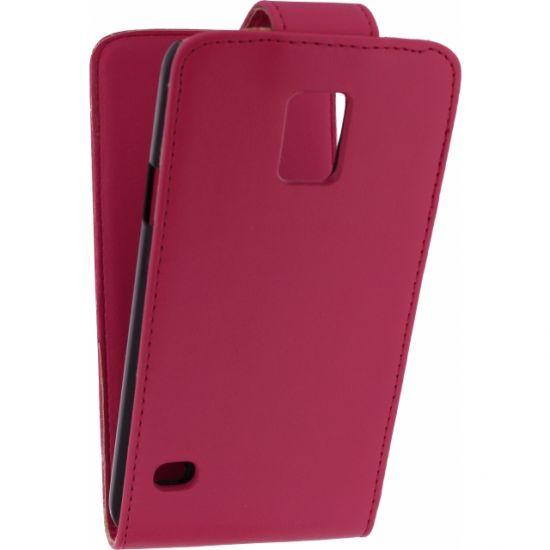 Xccess - Etui à clapet pour Samsung Galaxy S5 - Rose
