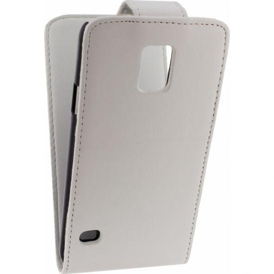 Xccess - Etui à clapet pour Samsung Galaxy S5 - Blanc
