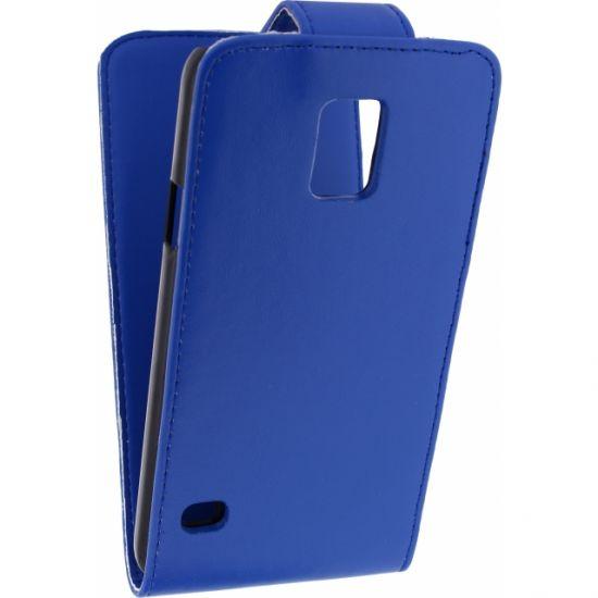 Xccess - Etui à clapet pour Samsung Galaxy S5 - Bleu
