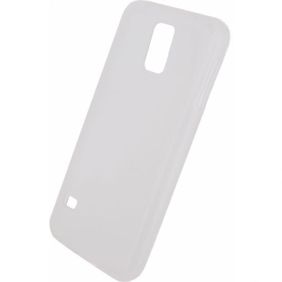 Mobilize Gelly - Coque arrière en TPU pour Samsung Galaxy S5 - Blanc