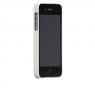 Case Mate Barely There - Coque arrière en Plastique rigide pour iPhone SE (2016) / 5S / 5 - Glossy White