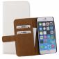 Mobilize Slim Wallet - Etui pour iPhone 6(s) - Blanc